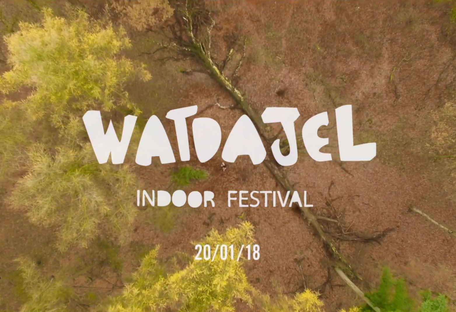 Een promotieshot van het Watdajel festival 2018