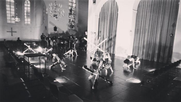 Een indrukwekkende performance in de Geertekerk